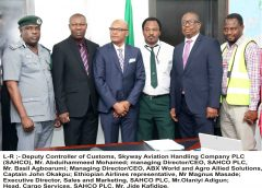 SAHCO PARTNERS ABX WORLD TO PROMOTE Farmers Hitch-Free Export Opportunity In Nigeria