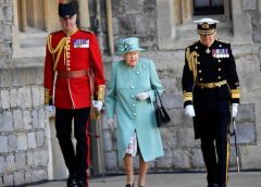 Queen Elizabeth II celebrated her 94th birthday on Saturday at Windsor Castle, where she has been in self-isolation with Prince Philip due to the coronavirus pandemic.