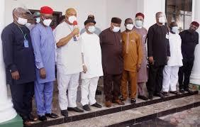 APC leaders meeting in Owerri