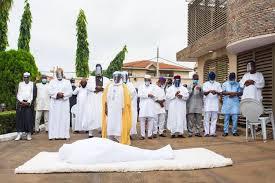Ajimobi burial prayers