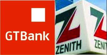 Gtbank and Zenith bank