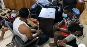 Four Nigerians Arrested