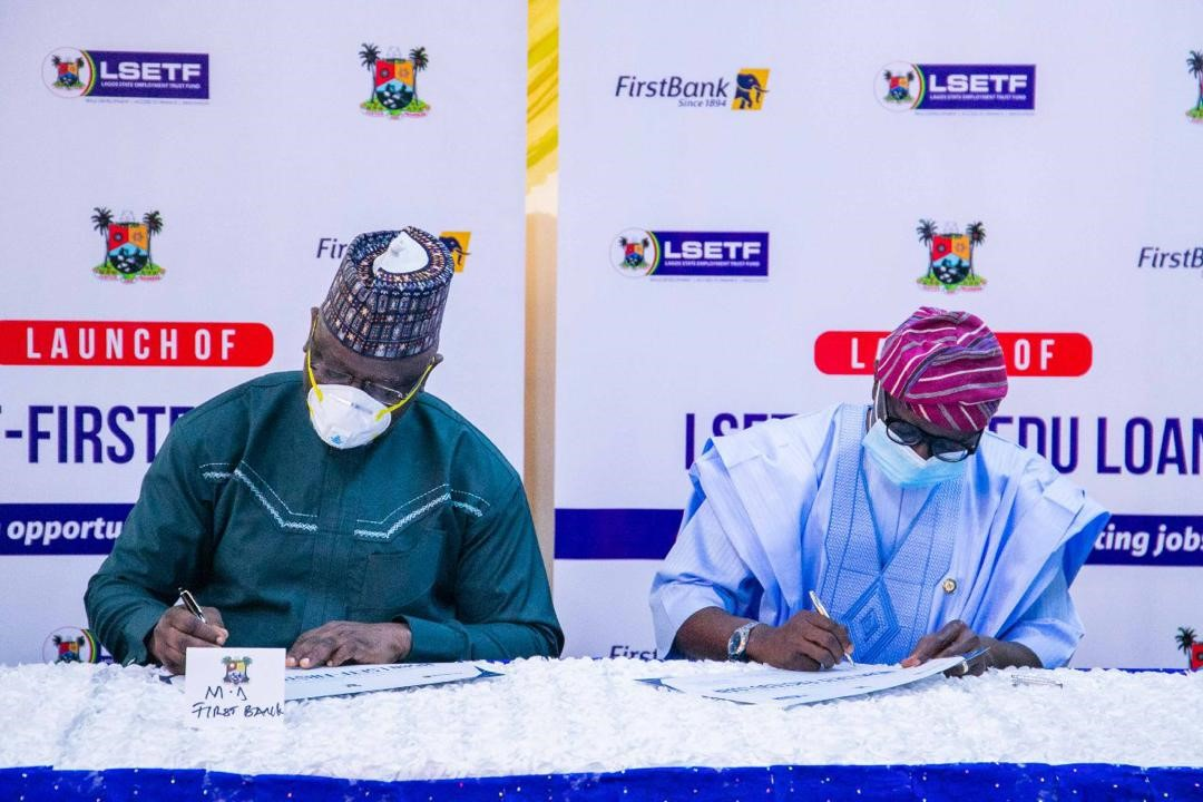 First Bank Partners LSETF To Offer Funding At Affractive Interest Rate To Low Cost Private Schools In Lagos State