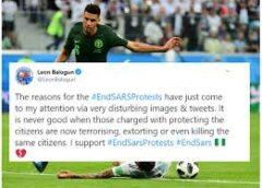 #EndSARS Protest: Super Eagles Stars Join Online