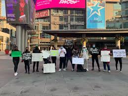 #ENDSARS: Nigerians In Canada, US, UK Others Join Protest