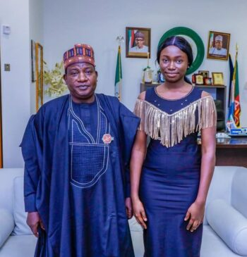Miss Slyvia Ulan Matthew: Plateau State Gov, Honours Student Who Scored 9 A1s In WAEC
