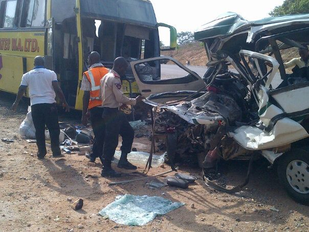 Six Dead In Lagos-Ibadan Expressway Accident
