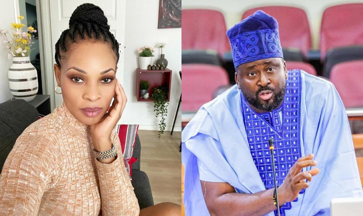 What Georgina Onuoha Told Desmond Elliot When He Call Nigeria Youths 'Children'