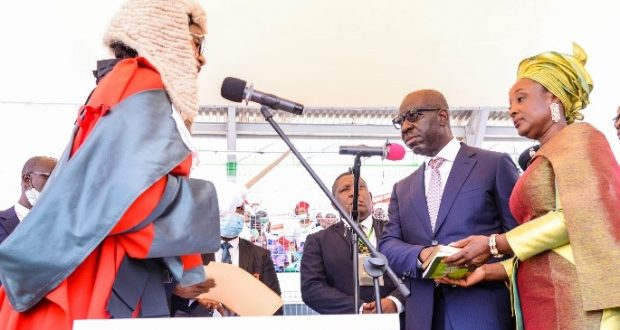 As Gov. Obaseki, Rt. Hon. Shaibu Swear In For Second Term