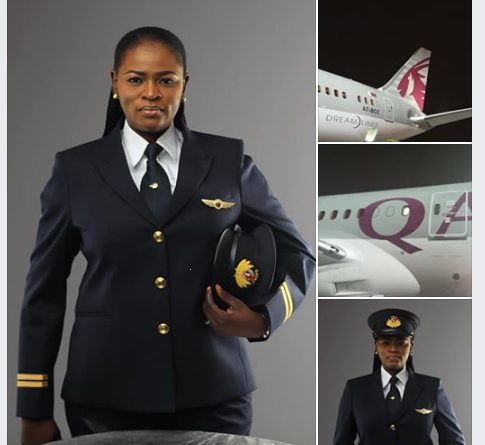 Ogunmola Sowemimo: Qatar Air operations First Nigerian Female Boeing 787 Pilot