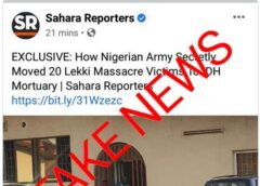 Lekki Masacre: Nigerian Army Denies Moving Dead Bodies From The Military Hospital
