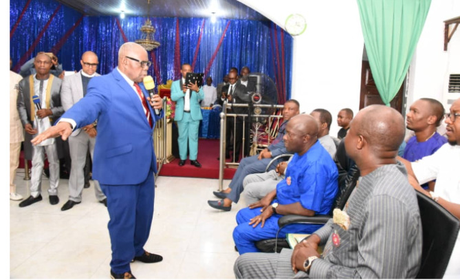 Gov. Wike Father's Church Attack By Suspected Hoodlums