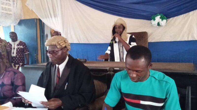 Bende LG Legislative Council Elects principal Officers