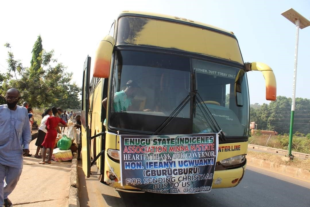 Enugu Free Transport Beneficiaries Hail Gov. Ugwuanyi's Magnanimity
