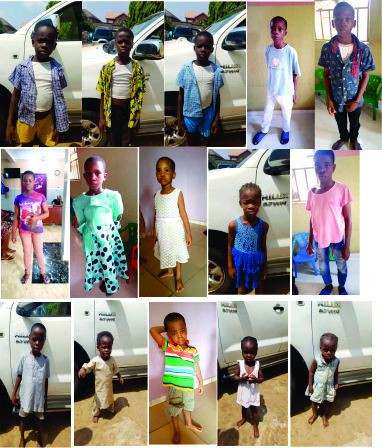 Child Trafficking Kingpin Nabbed As Gombe Police Command Returns Unclaimed Children To Anambra