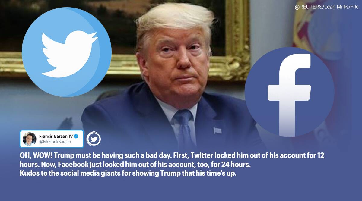 Donald Trump Twitter With Over 88 Million Followers Kicked Off