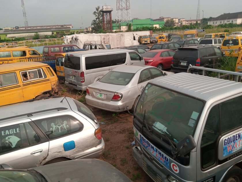 Lagos Gets Court Order For A Public Auction 88 Impounded One-Way Vehicles