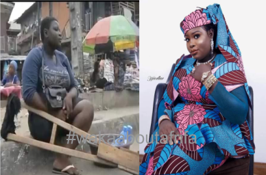 My Grandmother Behind My Ordeal And Why I Said My Father Was Dead — Amputee Hawker Clarifies, Begs For Forgivene
