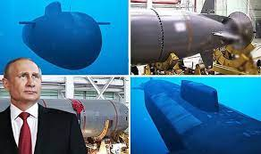 Russia is testing a nuclear torpedo in the Arctic that has the power to trigger radioactive tsunamis off the US coast