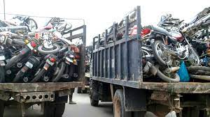 Lagos Impounds 81 Commercial Motocycles On Restricted Routes