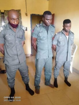 Insp. Sunday John, Sgt. Jimoh Asimiya, and Sgt. Solomon Adedapo Been Dismiss By Police For Extorting N153k From LASU Student