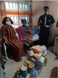 Man Who Flogged Own Mother: Anambra Women Affairs Commissioner Visits Commiserates With Victim