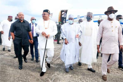 Victor Adoji Lauds Gov. Udom As He Adds Two Airbus To Ibom Air fleet