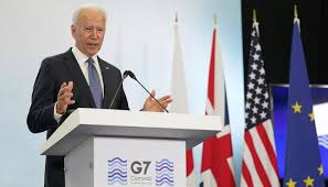 """Biden says U.S. is """"back at the table"""" at close of G-7 summit"""
