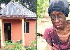Mrs Esther Kanebi: Abandoned Widowed Ex-banker Finally Gets Befitting Home But Not From Her Children, Family