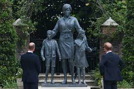 Princess Diana Statue Unveiling: Eye Witness Account As The Mood In Kensington Gardens Was Reflective