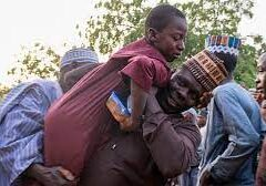 Joy As Parents Reunited With kidnapped Nigerian Students