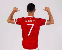 Ronaldo Gets Back Iconic No 7 Shirt At Man Utd