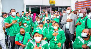 Team Nigeria Ends Tokyo Paralympics With 10 Medals