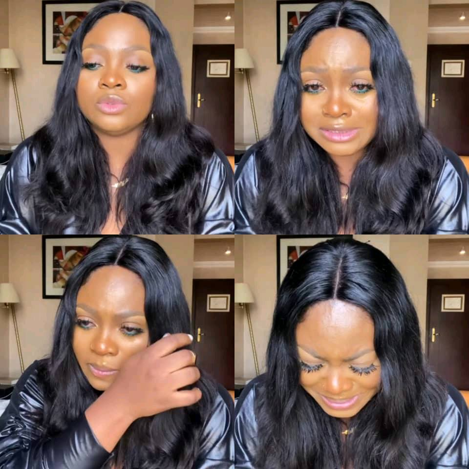 BBNAIJA S6: Tega, 'I Take Full Responsibility For My Actions' Break's Down In Tears As She Tenders Public Apology